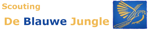 Scouting Blauwe Jungle Logo